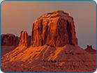 Sunset Monuments