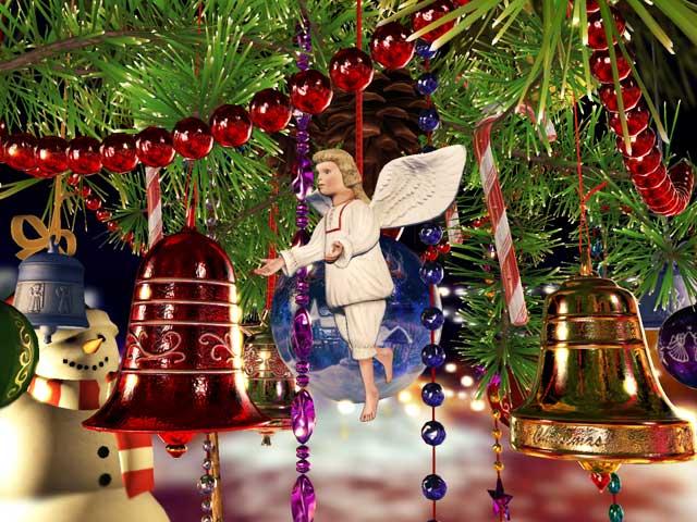A symbol of Christmas spirit for your desktop
