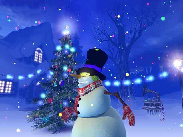 Holidays 3d screensavers christmas early holidays with for Screensaver natale 3d
