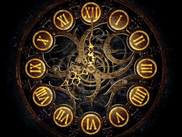 Mechanical Clock 3D Screensaver 1.0