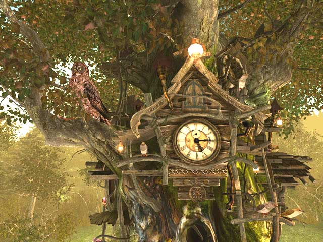Cuckoo Clock 3D Screensaver screenshot