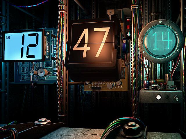 ������: ����� ██◄���� ���� ������ digitalclock_screen05.jpg
