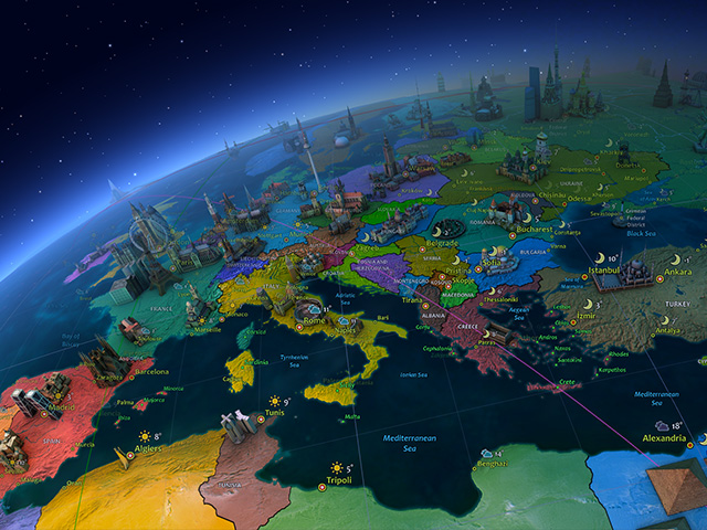 """3D Écrans de Veille """"Cosmos"""" - Earth - Transformez votre ..."""