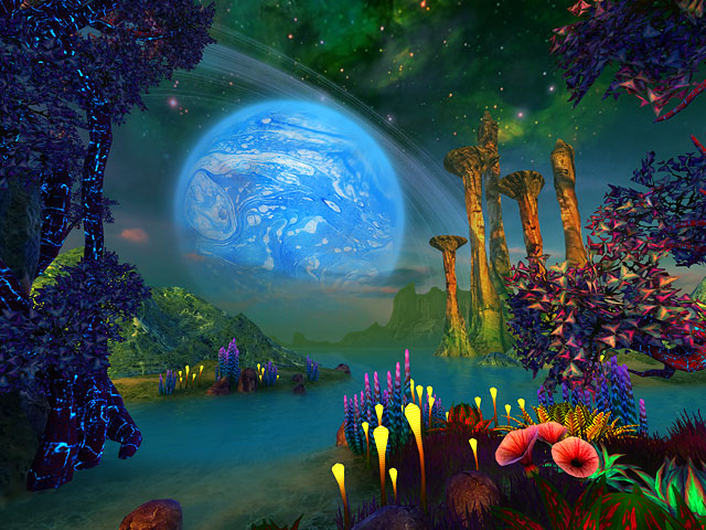 Screenshots for Faraway Planet 3D Screensaver - 2