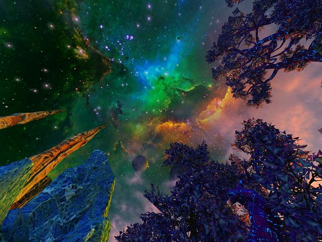 Screenshots for Faraway Planet 3D Screensaver - 5