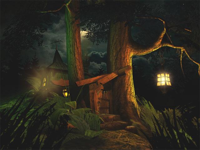 Screenshot of Fantasy Moon 3D Screensaver