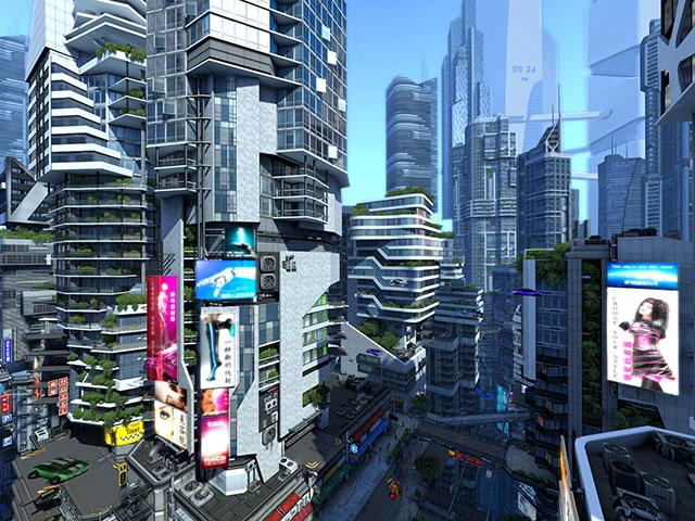 Adventure 3d Screensavers Futuristic City The City Of