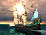 Galleon 3D Screensaver Download