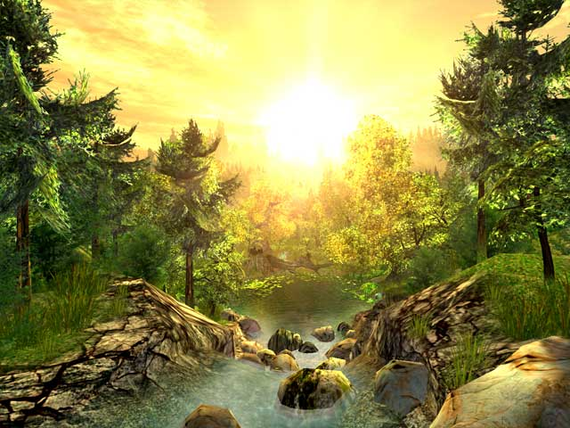 3d Nature Images Nature D Screensavers