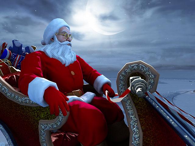 Screenshots for Santa Claus 3D Screensaver - 2