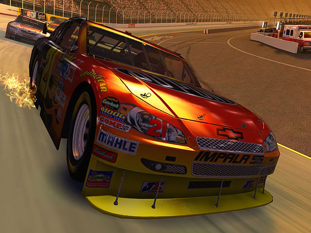 Stock Car Racing 3D Screensaver screenshot
