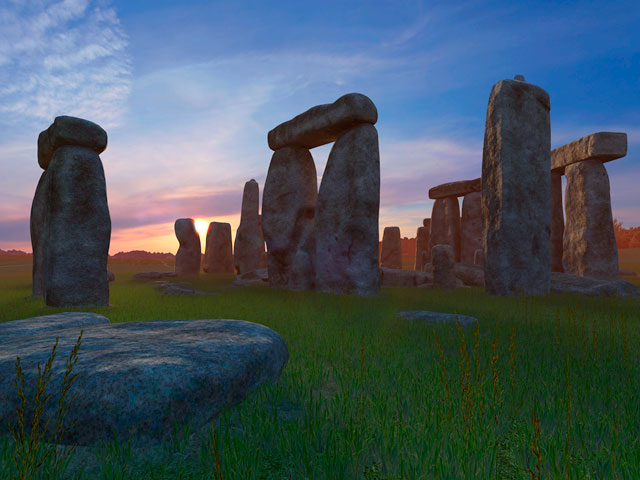 Adventure 3d Screensavers Stonehenge Screensaver With