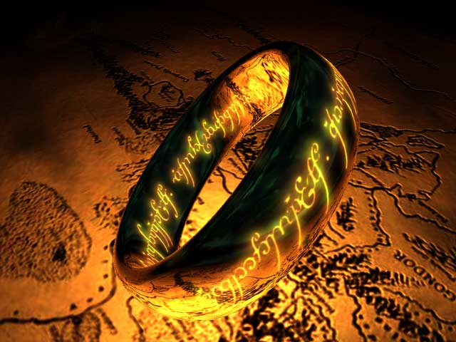 The Lord of the Rings: The One Ring 3D Screensaver 1.0