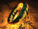 Lord of The Rings: The One Ring 3D Screensaver