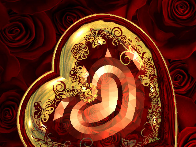 Valentine 3D Screensaver will be a perfect present for your soul mate and an embellishment for your PC. It fills the screen with dozens of scarlet roses and your heart with passionate love as the romantic music sounds most euphoniously in your ears.