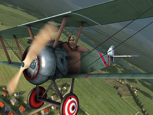 Vintage Aircrafts 3D Screensaver screenshot