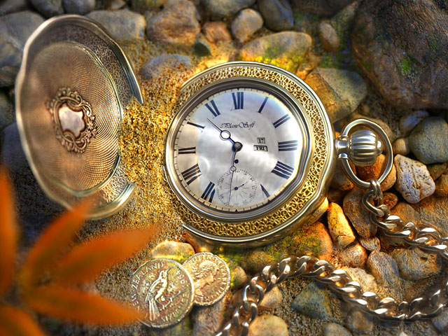 The Lost Watch 3D Screensaver