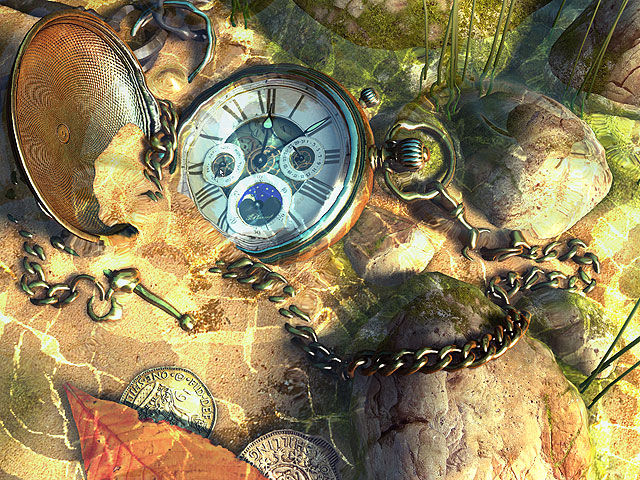 The Lost Watch II 3D Screensaver