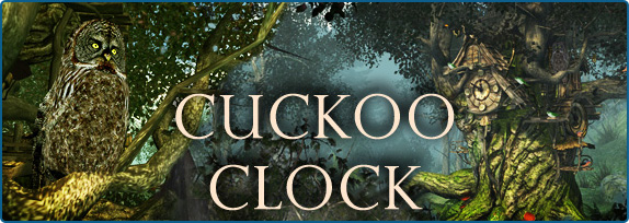 Clock 3D Screensavers - Cuckoo Clock - A wonderful Cuckoo Clock in