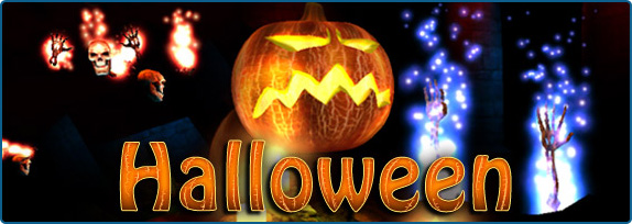 Holidays 3d Screensavers Halloween Cool Spooky