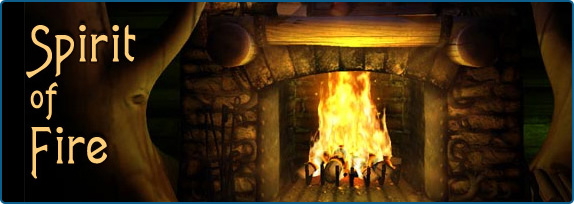 Fireplace 3D Screensavers - Spirit of Fire - Warm and cozy