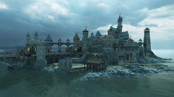 fantasy screensavers medieval castle real medieval castle